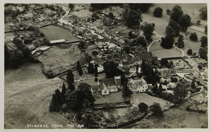 Selborne from the air